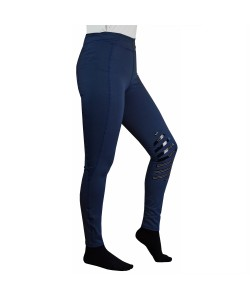 Navy Riding Tights