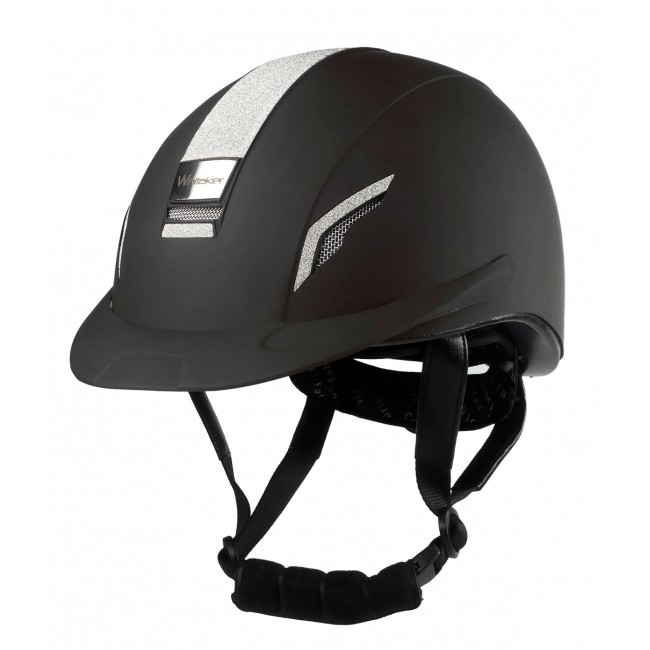 RH038 - Whitaker VX2 Sparkle Helmet in Black
