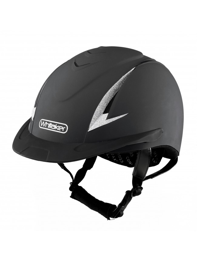 RH041 - Whitaker New Rider Generation Helmet in Black