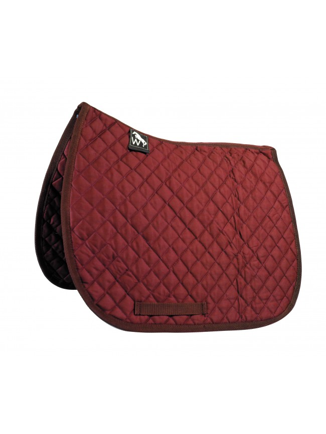 SW05F05 - Ted GP Saddle Pad - Red