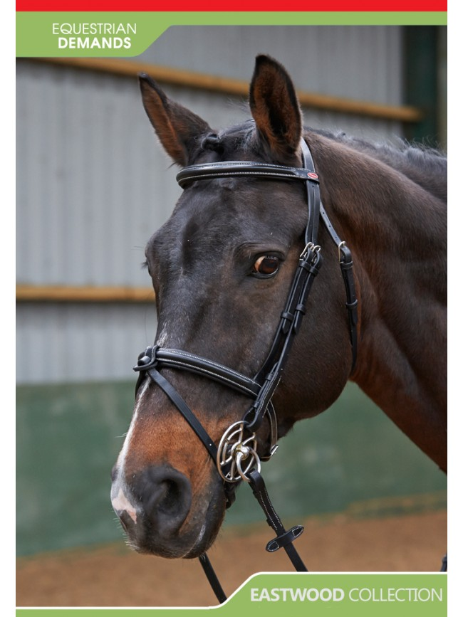 BR051A - Eastwood Raised Flash Bridle