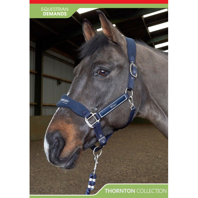HC081 - Thornton Headcollar and Leadrope Set