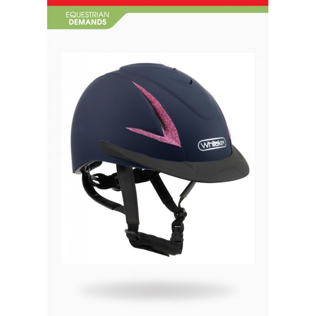 RH041P - Childrens Limited Edition Pink Sparkle NRG Helmet *Pony Club Approved