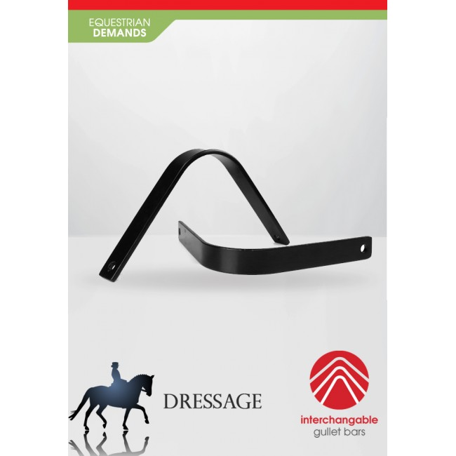 "JWS05GD- Whitaker Interchangeable Size Bar System - Dressage 17""-18"""