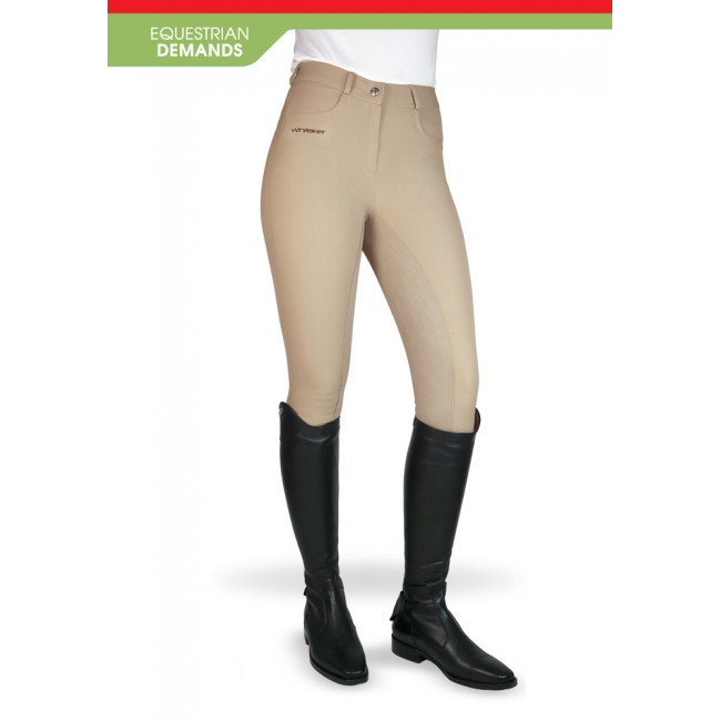 B075 Ladies Whitaker Horbury Breeches with Full Suede Seat