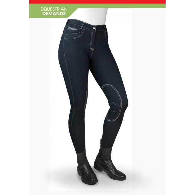 B150 Rawdon Denim-Effect Ladies Breech