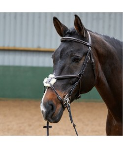 BR050A - Eastwood Mexican Bridle With Reins