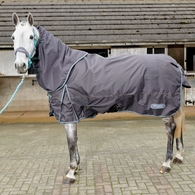R196 Ottowa 300g Turnout Rug in Grey - Limited Stock Sizes 4'9 and 7'0