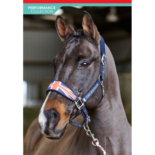 HC032 - Union Jack Fleece Headcollar