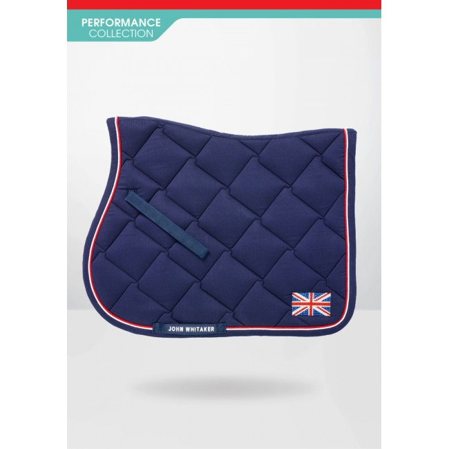 SC039 - Britannia Bling Union Jack Saddle Pad