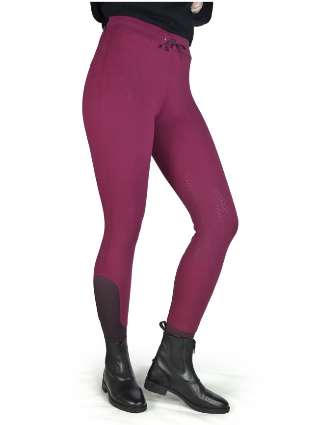 BWA15 - Jade Pull-on Comfort Stretch Riding Leggings