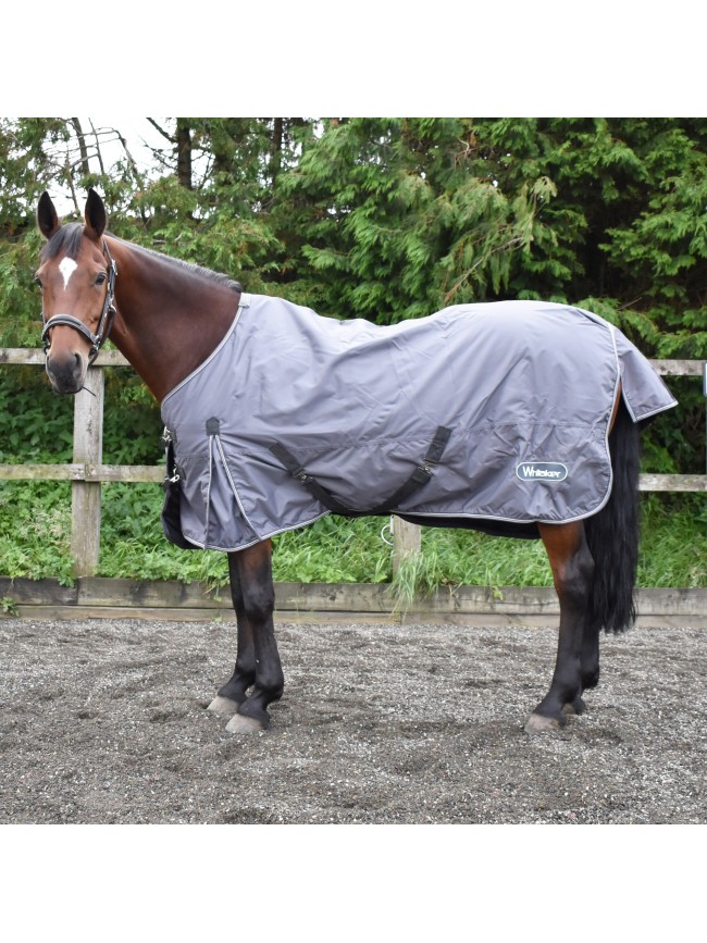 Grey Oxford 50g Turnout Rug