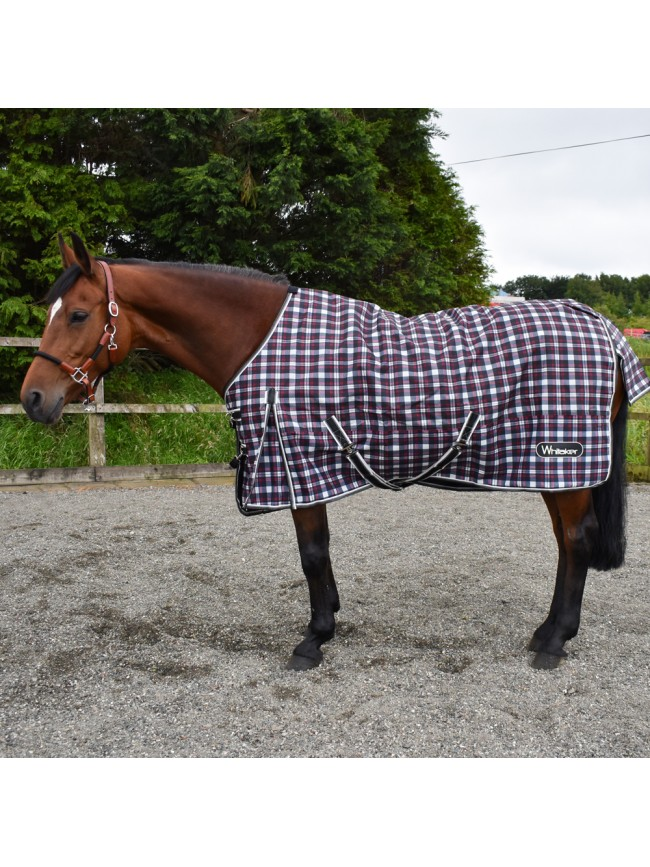 Check 0g Turnout Rug  - 6'3 Limited Stock