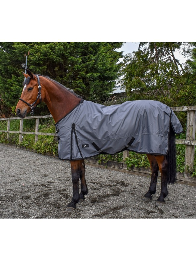Finn 50g Turnout Rug in Sedimentary Grey - Limited Stock Sizes 6'0 and 6'6