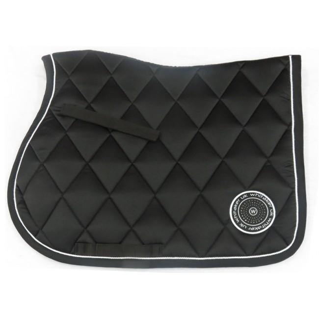 SC070 Shepley Saddle Pad Full Black
