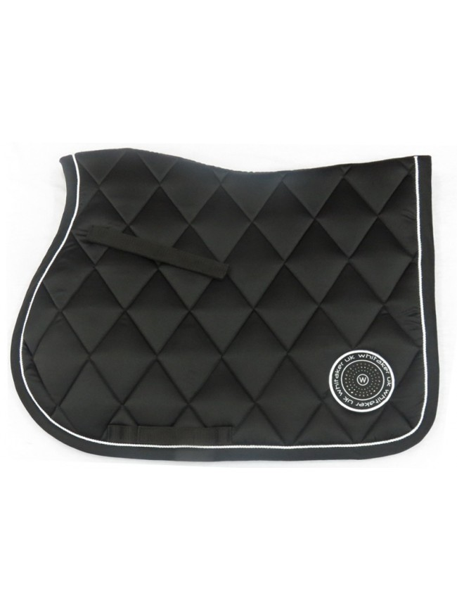 SC070 Shepley Saddle Pad Full Black