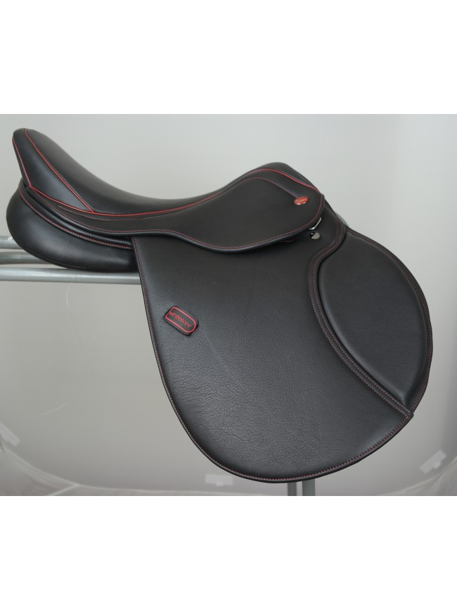 "Ex-Display Barnsley X-PRO Pony Saddle 16.5"" Black Medium Gullet"