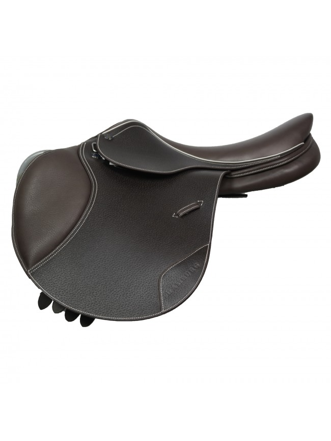 "JWS062 - Hamburg Jump Saddle 17"" Havana"