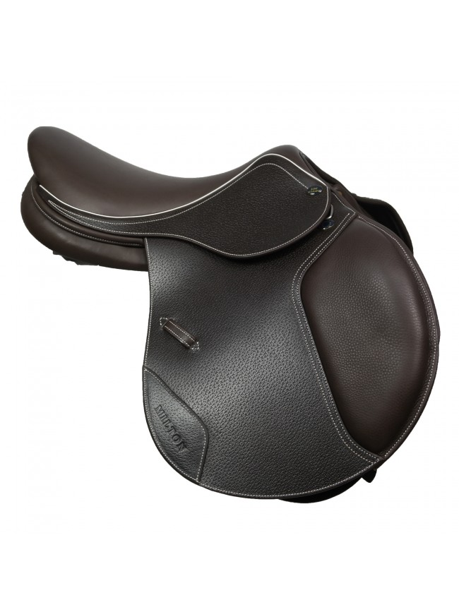 "SAMPLE JWS065 - Milton Jump Saddle 16"" Havana"