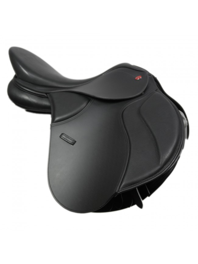"SAMPLE Synthetic GP Saddle 17"" Black"