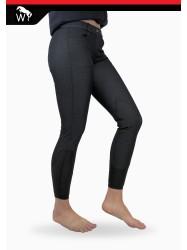 BWL52 - Ivy V2 Black/Grey Stretch Breeches