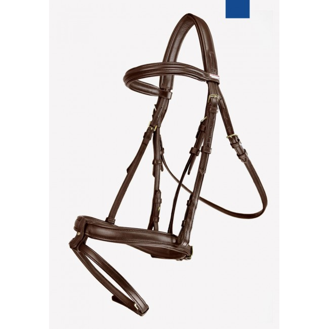 BR062 - JW Super Soft Oslo Leather Flash Bridle
