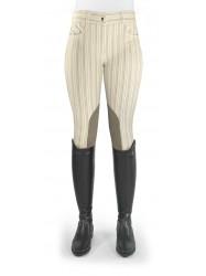 Ivy Cream Striped Breeches - Model C52