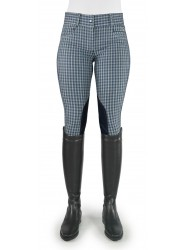Ivy Blue Checked Breeches - Model C83