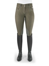Ivy Checked Breeches - Model C96