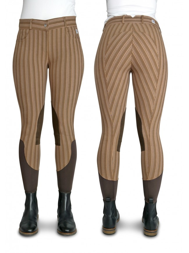 ONLINE EXCLUSIVE -BW13 Emma Caramel Stripe Breech