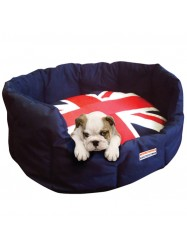 UJDB-John Whitaker Union Jack Dog Bed