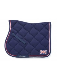 Bling Union Jack Saddle Pad