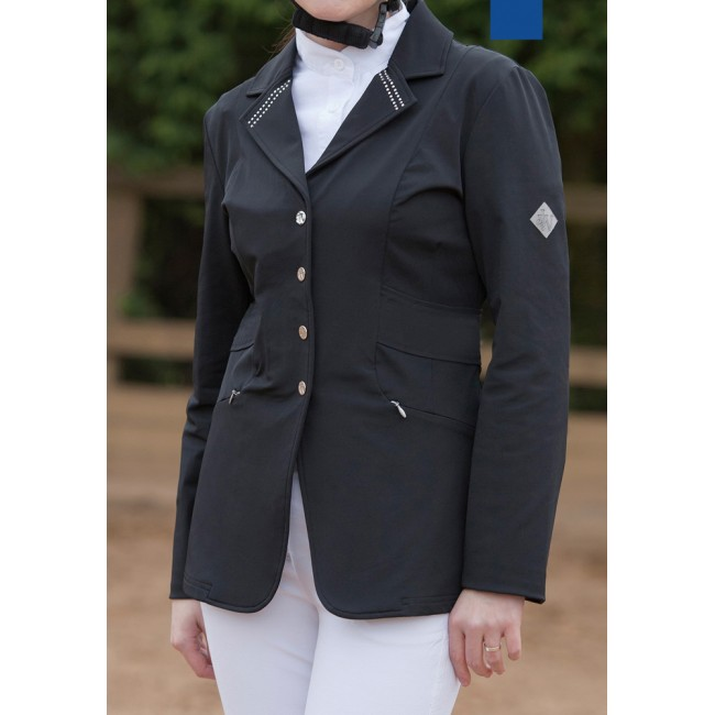 SJ024 - Ladies Show Jacket with Crystal Collar